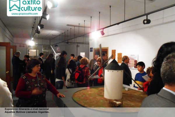 Exposición itinerante a nivel nacional «Aquellos molinos llamados gigantes…»