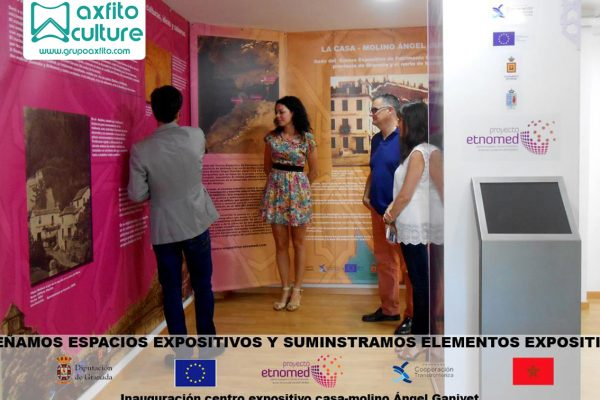 """Proyecto """"Centro Expositivo Casa-Molino Ángel Ganivet"""""""